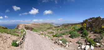 Lanzarote - Trail from the Mirador del Bosquecillo to Haria Royalty Free Stock Photography