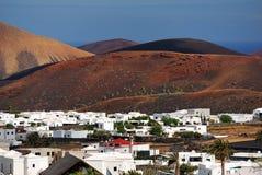 Lanzarote, Uga Stock Photo
