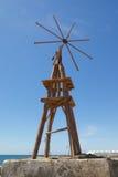 Lanzarote väderkvarn 2 royaltyfria foton