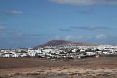 Lanzarote village Stock Photo