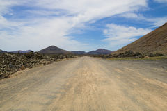 Lanzarote Volcanic Landscape 006 Royalty Free Stock Photography