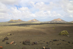 Lanzarote Volcanic Landscape 019 Stock Image