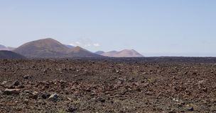 Lanzarote Volcanic Landscape 007 Stock Image