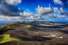 Lanzarote, Volcanoes stock photos