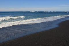 Lanzarote vulkanisch strand Royalty-vrije Stock Afbeeldingen
