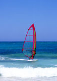 Lanzarote Windsurfing Royalty Free Stock Images