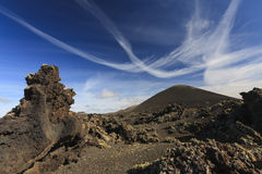 Lanzarote wyspa Obrazy Royalty Free