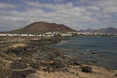 Lanzarote wyspa, Hiszpania Obrazy Stock