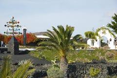 Lanzarote, wyspy kanaryjska, Hiszpania, Obraz Royalty Free