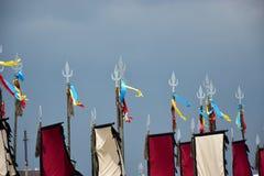 Lanzas decorativas Foto de archivo libre de regalías