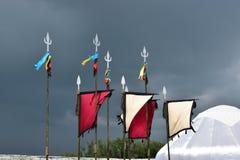 Lanzas decorativas Foto de archivo