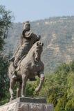 LANZHOU, CHINA - SEP 29 2014: Statue of Huo Qubing, Lanzhou, Gan Stock Photo