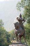LANZHOU CHINY, SEP, - 29 2014: Statua Huo Qubing, Lanzhou, Gan Zdjęcie Royalty Free