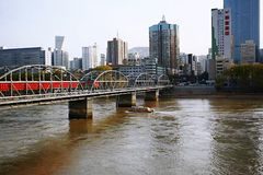 Lanzhou miasto obraz stock