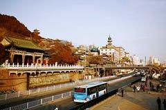 Lanzhou miasto fotografia royalty free