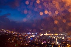 Lanzhou night Stock Photos