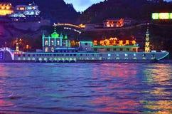 Lanzhou som svävar moskén Fotografering för Bildbyråer