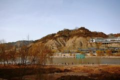 Lanzhou-Stadt stockfotos