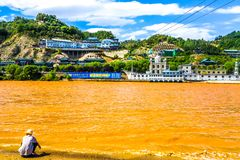 Lanzhou Yellow River 01 stock images