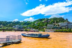 Lanzhou Yellow River 06 royalty free stock images