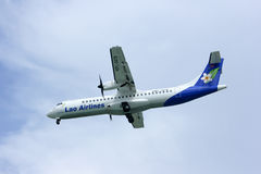 Lao airline, atr72-500 Royalty Free Stock Photo