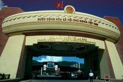 Lao Bao international border point Royalty Free Stock Photography