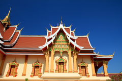 Lao de Wat Fotografía de archivo