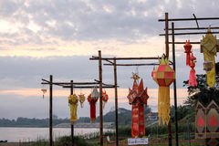 Lao de Wat Fotografia de Stock Royalty Free
