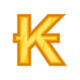 Lao kip icon, cartoon style Stock Photo