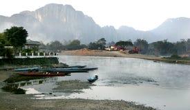 Lao Lanscape Royalty-vrije Stock Afbeelding