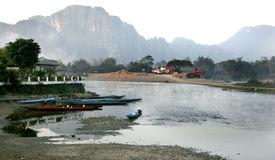 Lao Lanscape Royalty Free Stock Image