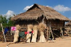 Lao, Muang Sing - rural scene Royalty Free Stock Images