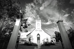 Lao,Pakse. Picture of Church in Lao Pakse Royalty Free Stock Photography
