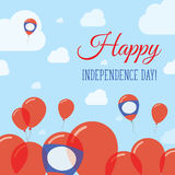 Lao People`s Democratic Republic Independence Day. Royalty Free Stock Image