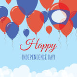 Lao Peoples Democratic Republic Independence Day. Royalty Free Stock Images