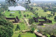 Lao Phou Vat стоковые фотографии rf