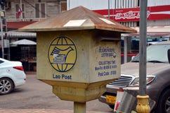 Lao Post Stock Photo