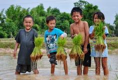 Lao's life Stock Image