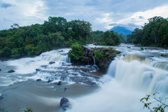 Lao's Photo. Pictures from the most beautiful waterfall in Laos Stock Image