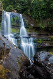 Lao's Photo. Pictures from the most beautiful waterfall in Laos Stock Photos