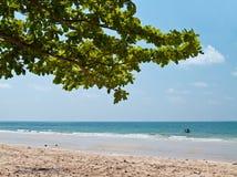 Lao strand van Chao Stock Afbeelding