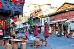 Lao street Royalty Free Stock Photos
