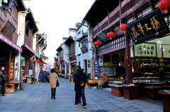 Lao street. In Tunxi huangshan city.The photo shoot time is 2014.12.5 Stock Photography