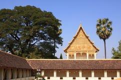 Lao Tempel van Thad Laung van Wat, Stock Afbeelding