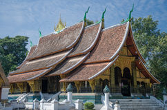 Lao temple Stock Photo