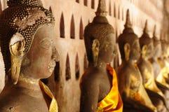 Lao, templo de Vientiane - de Wat Si Saket Imagem de Stock
