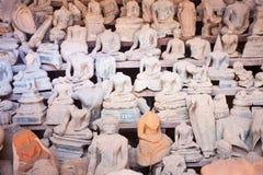 Lao, Vientiane - Wat Si Saket temple. Stock Photo