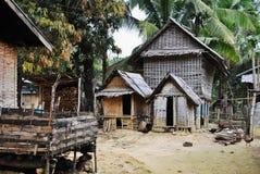 Lao Village Immagine Stock Libera da Diritti