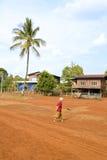 Lao village life around coffee planted Bolaven Plateau, Pakse, Laos Royalty Free Stock Photos