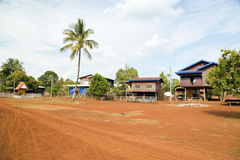 Lao village life around coffee planted Bolaven Plateau, Pakse, Laos Royalty Free Stock Image